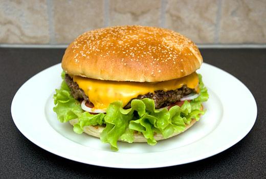 150 gram hamburgare